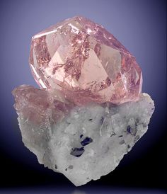 Morganite, the pink variety of Beryl.