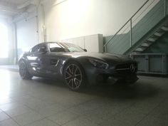 Mercedes sls gts amg paintles dent removal