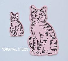 "/""Kitten 2/"" plastic soap mold soap making mold mould cat"