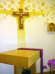 Oratorio Miradero Calasanz Cercedilla.  Puedes ver ésta y otras pinturas murales…