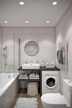 The Secret Of Tiny House Bathroom Designs And Decorating Ideas No One Is Discussing 75 - findmynewhomes Small Bathroom Storage, Tiny House Bathroom, Bathroom Design Small, Bathroom Layout, Bathroom Interior Design, Bathroom Designs, Master Bathroom, Small Bathrooms, Basement Bathroom