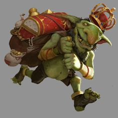 Goblin, Game Concept, Concept Art, Game Character, Character Design, Fantasy Monster, Drawing Reference, Cute Drawings, Troll