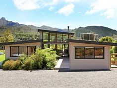 Vista - house plans new zealand house designs nz little house plans, Country House Design, Small House Design, Modern House Design, Wellington House, Little House Plans, Vista House, New Zealand Houses, Gothic House, Eco Friendly House