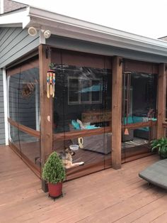 Outdoor Curtains For Patio, Screened In Porch Diy, Porch Awning, Porch Curtains, Screened Porch Designs, Backyard Patio Designs, Outdoor Rooms, Outdoor Living, Outdoor Patios