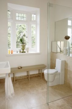 30 Amazing Neutral Bathroom Designs : 30 Amazing Neutral Bathroom Designs With Glass Shower Box And Toilet And White Wall And Modern Window . Neutral Bathrooms Designs, Bathroom Designs, Bathroom Windows, Attic Bathroom, Downstairs Bathroom, Master Bathroom, Bathroom Plans, Bathroom Ideas, Corner Toilet