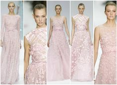 Ellie Saab wedding dresses.  Love the dress in the middle.