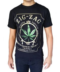 619089e8917d Men's Printed Weed Marijuana Cigarette Graphic Design T-Shirts - Black -  CQ183QU9K80,Men's