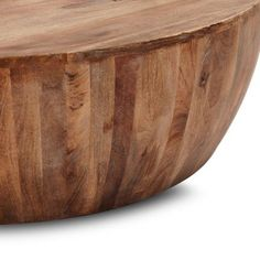 TheArmchair Drum Coffee Table Brown,Coffee Tables