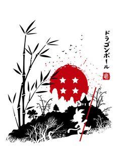 The Legend of Balls Anime & Manga Poster Print Dragon Ball Gt, Dragon Z, Anime Dragon, Z Tattoo, Anime Tattoos, Art Graphique, Japanese Art, Poster Prints, Anime Art