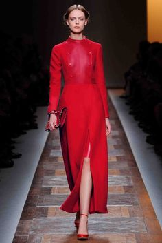 Total look: Red