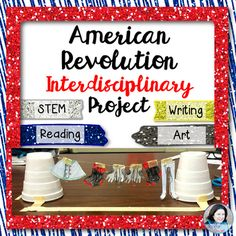 American Revolution STEM and More! Are you looking to integrate STEM, Writing, and Art into your teaching of the American Revolution? This project is perfect for you! I created this project because I wanted my students to participate in a hands-on experience while studying spying in the American Revolution.