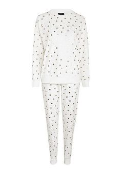 0ecb2698b3 Tesco direct  F F Foil Star Print Fleece Pyjamas