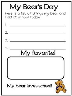 Back to School with...The Three Bears and Goldilocks image 3