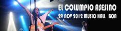 El Columpio Asesino en @Budweiser Live en la sala @MusicHall Barcelona:    http://www.underscore.es/detalle_concierto.php?id_conciertos=408    Crónica y fotos: Marta Vélez
