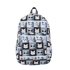 The Psychedelic Cat Backpack
