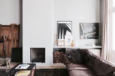 living room decor   home decor ideas   interior design   neutral colors living room   wall art   black and white photography