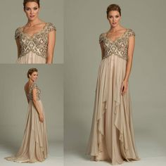 2015 Summer Mother Of The Bride Dresses With Sheer V Neck Short Sleeve Beaded Crystal Chiffon Floor Length Mother'S Formal Wear Groom Gowns Designer Mother Of Bride Dresses Full Figure Mother Of The Bride Dresses From Flip_zone, $123.57  Dhgate.Com