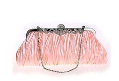 New Hot Selling cheap clutch evening clutches bolsas Women's Satin evening bags Handbag Wedding Bag Purse White Clutch Bag 7385