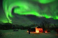 Aurora sobre el Parque Nacional de Abisko