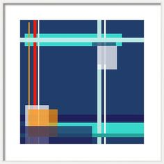 Jenny Rainbow Fine Art Photography Framed Print featuring the photograph Geometric Classic Blue With Colorful Lines by Jenny Rainbow Framing Photography, Fine Art Photography, Color Harmony, Fashion Room, Frame Shop, Color Pallets, Prints For Sale, Wall Prints, Framed Artwork