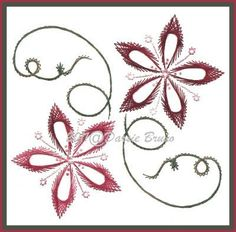embroidered greeting cards patterns - Google Search