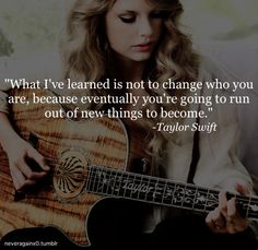 Hate quoting taylor swift but like the quote