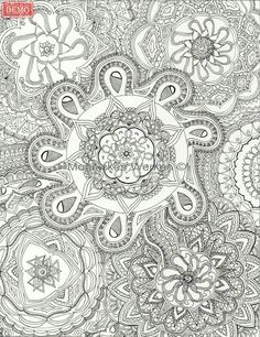 Zendala's in black by Marieke Raterman. Will be in volume 7 (january 2016) of Global Doodle Gems, coloringbook for adults! To purchase a print or a smartphone case with this print, visit Monnicken Werken at Facebook : https://m.facebook.com/profile.php?id=878872252171950