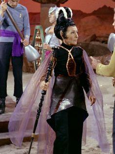 T'Pau (Celia Lovsky) in the Star Trek episode Amok Time.