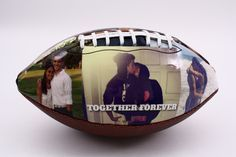 Customized football, perfect gift for Valentine's Day, anniversary or birthday. Impress your boyfriend, girlfriend, husband or wife or any of your loved ones who are athletes or sports fans with a personalized football from Make A Ball. Football Boyfriend Gifts, Diy Gifts For Boyfriend, Gifts For Husband, Boyfriend Girlfriend, Football Gift, Crazy Girlfriend, Football Birthday, Football Soccer, Soccer Ball