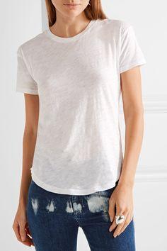 $30  White cotton-jersey Slips on 100% cotton Machine wash Imported