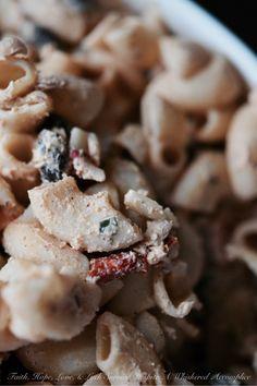 Mexican Cream Cheese Pasta Salad | Faith, Hope, Love, and Luck Survive Despite…