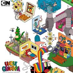 Cartoon Network Brasil: Confere os Vídeos Exclusivos e o Poster de Uncle Grandpa
