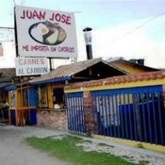 Juan Jose on the road from Bogota. Chorizo worth driving for.