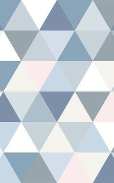 If you love geometric design, invite this modern Pastel Geometric Triangle Pattern Wallpaper Mural onto your feature wall. Modern Wallpaper Designs, Cute Patterns Wallpaper, Best Iphone Wallpapers, Pretty Wallpapers, Geometric Background, Geometric Wall, Kitchen Wallpaper Murals, Cute Pastel Wallpaper, Apple Watch Wallpaper
