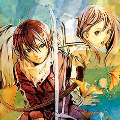 Yatogami-sama, Hiyori-san y Yukine-kun (Espada)
