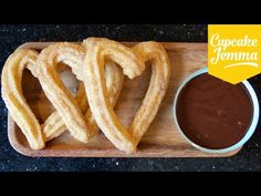 How to Make Churros and Chocolate (and it's almost VEGAN!) | Cupcake Jemma - YouTube