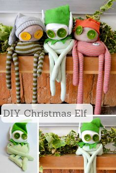 Make this gorgeous Christmas Elf buddy as a decoration or for a gift. Full…