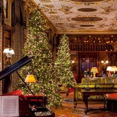 Christmas ay Chatsworth- how divine!