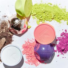 COLOR.BUGS are like eyeshadow for your hair... wipe the colour on and rinse it away!