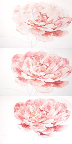 flower painting techniques