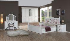 Cıty Country Yatak Odası #yildizmobilya #country #different #room #yemek #cook #furniture #uygun #sale #blue #decoration  http://www.yildizmobilya.com.tr/