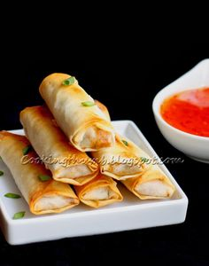 Cooking Thumb : Baked Spring Rolls