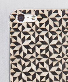 Taracea wood skins for iPhone5 - KALEIDOSCOPE