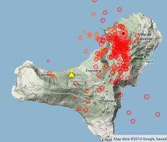 Volcanic activity worldwide 18 Mar 2014: El Hierro