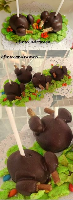 Turkey Cake Pops @Chelsea Rose Campbell @Shelley Parker Herke Campbell