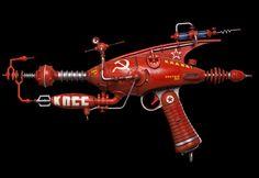 brucesterling:  nomoreimfull:  Ray Guns  *The Soviet one is...