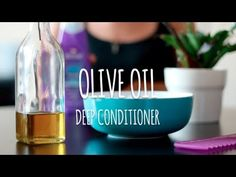DIY Olive Oil Deep Conditioner | VIDEO  For all our visual learners :) Here's a super quick deep conditioner you can whip up at home. All you need is your fav rinse out conditioner and some EVOO!