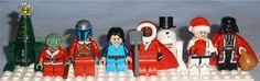 Lego Exclusive Star Wars figures from Advent Calendars