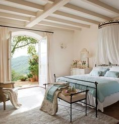 Beautiful Master Bedroom. Love The Doors And The View......