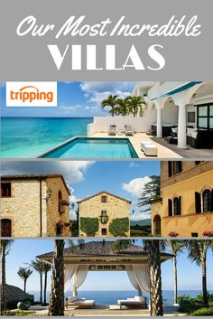 Nothing says glamour and luxury like a villa. Tripping.com is proud to offer premium villas for rent around the world, so if you're dreaming of a seaside escape in St Martin, a winery in Tuscany, or a traditionally-crafted mansion in Bali, it's all available to be booked. Some are much more reasonable than you may think, too! Click through and take a look.